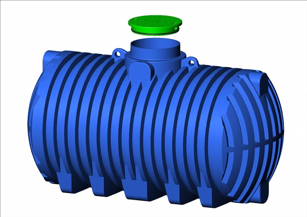 Regenwassertank Kunststoff Regenwasserspeicher