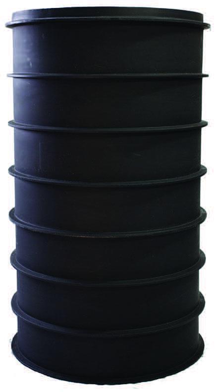 Schachtböden aus Kunststoff DN 625 -1000